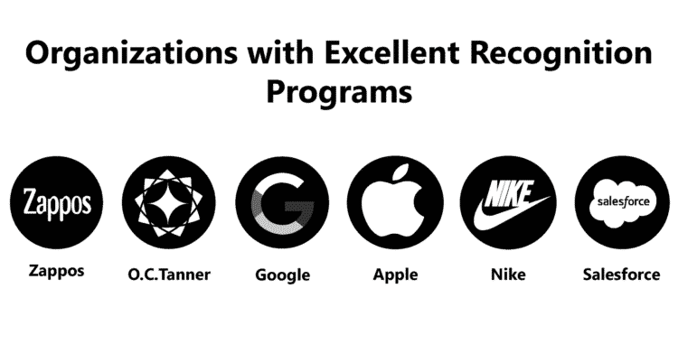 Organizations with Excellent Recognition Programs