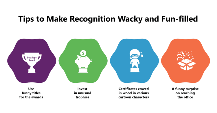 How to make Employee Recognition Fun and Wacky