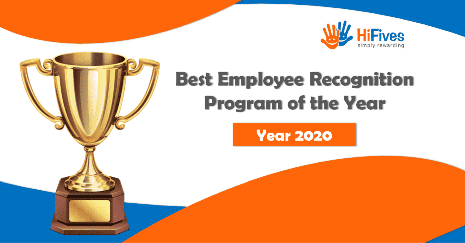 Winner of the 2020 Best Employee Recognition Program Award